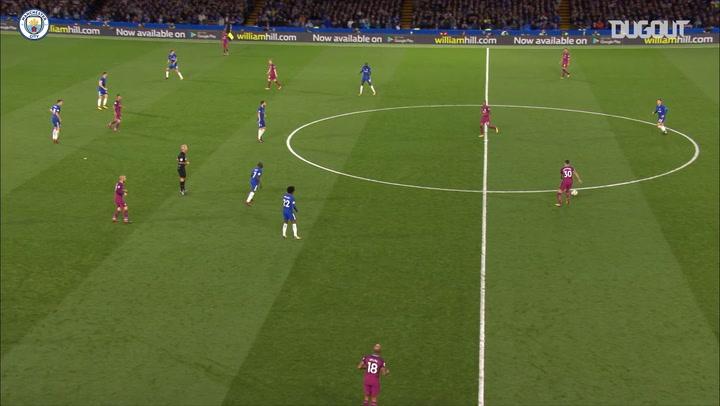 Team Goals: Kevin De Bruyne vs Chelsea - Dugout