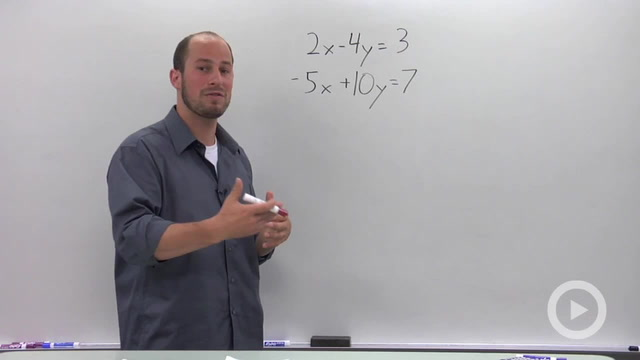 Solving a System of Linear Equations in Two Variables - Problem 2