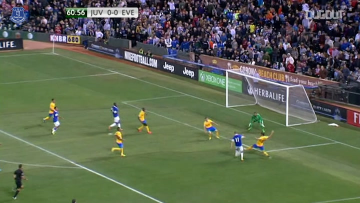Everton enjoy penalty win over Juventus