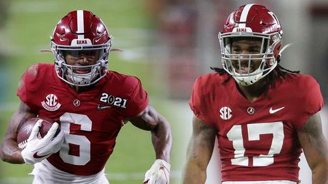 2021 NFL Draft Odds: Do Giants prefer Jaylen Waddle over DeVonta Smith?