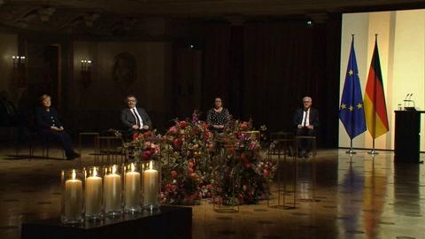Alemania celebra un homenaje nacional a los muertos por covid-19