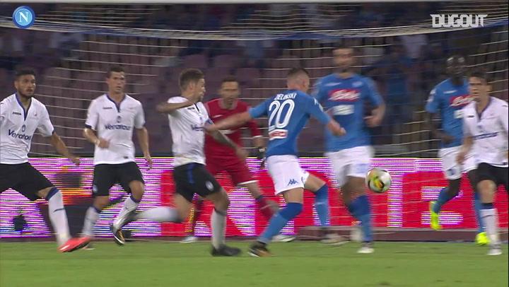 Piotr Zieliński's venomous volley against Atalanta BC