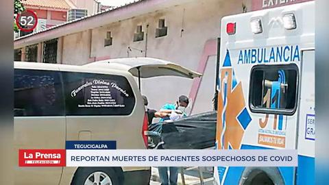Noticiero: Reportan muertes de pacientes sospechosos de COVID