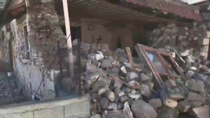 Sismo de magnitud 6,3 sacude centro de Grecia