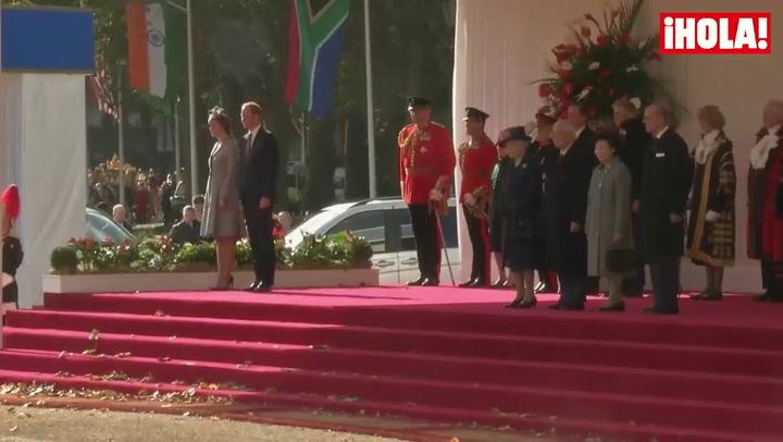La Duquesa de Cambridge reaparece tras anunciar que está esperando su segundo hijo