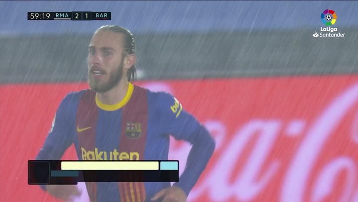 Gol de Mingueza (2-1) en el Real Madrid 2-1 Barcelona