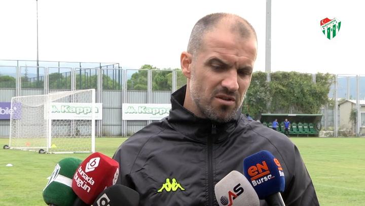 Mustafa Er, Tuzlaspor Maçı Öncesi Açıklamalarda Bulundu