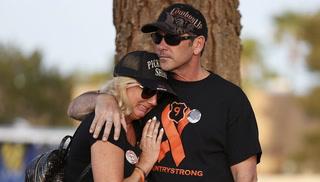 Route 91 survivors meet for six month vigil