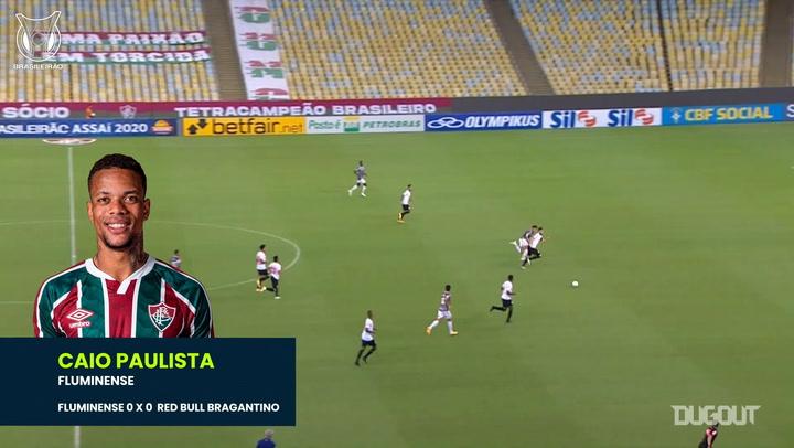 Let's Samba! Caio Paulista's stunning nutmeg vs Red Bull Bragantino