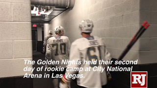 Golden Knights rookie camp – Day 2