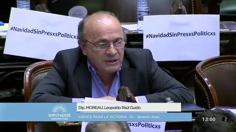 Leopoldo Moreau justificó la agresión al periodista Julio Bazán