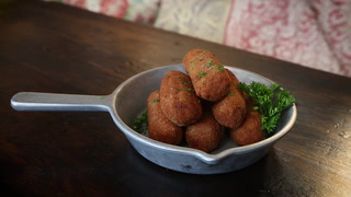 Eileen and Jonathan Andrade of Finka Talk Croquetas