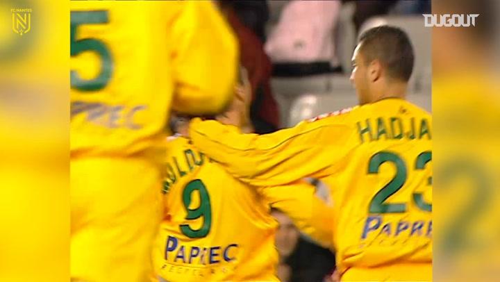 Viorel Moldovan's outstanding strike vs FC Nantes
