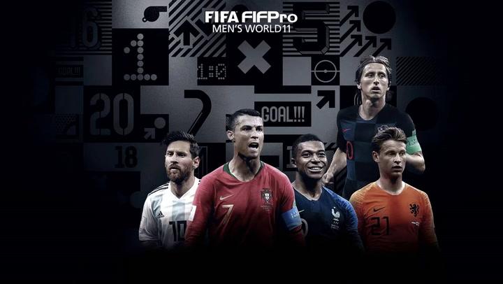 El once masculino FIFA de los premios The Best