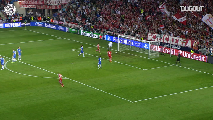 Franck Ribery's unstoppable strike against Chelsea