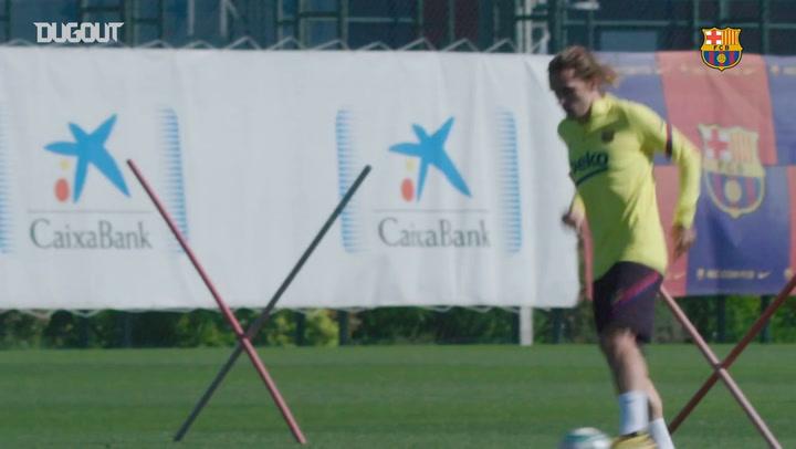 Barça preparations continue for LaLiga return