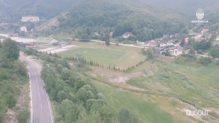 KF Shkëndija's pre-season training camp in Mavrovo