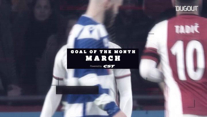Los mejores goles del Ajax en marzo de 2020