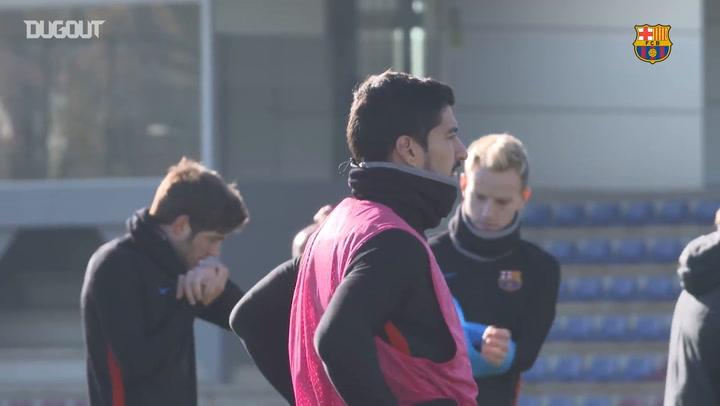 Training With... Luis Suárez