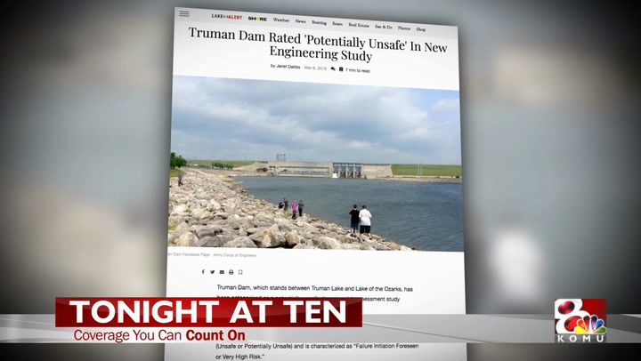 KOMU 8 News: Truman Dam Ratings Drop