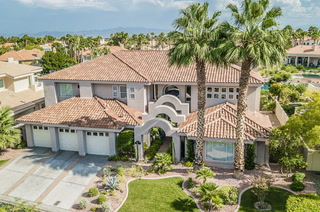 Foreclosures of mansions in Las Vegas