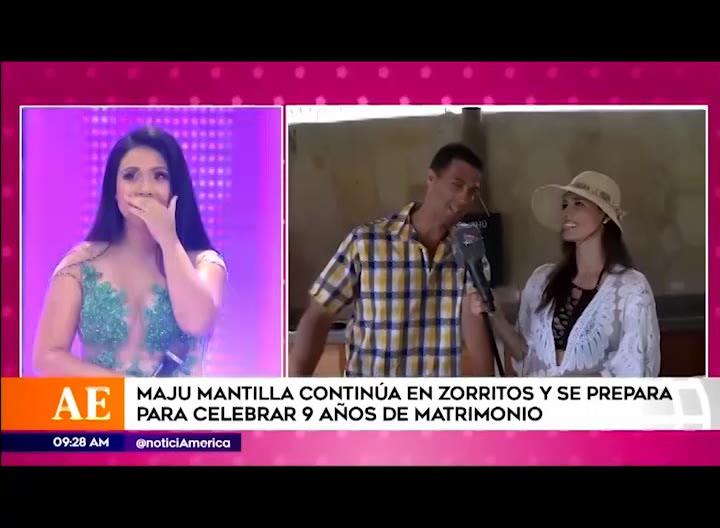 Tula Rodriguez hace inesperado pedido a esposo de Maju y él responde así