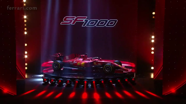 Así es el nuevo Ferrari SF1000 con el que quieren recuperar el trono de la F1