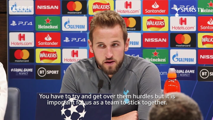 Harry Kane: We need to stick together as a team