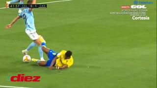 Choco Lozano es figura, ahora provoca el penal del 0-2 de Cádiz ante el Celta en Balaídos