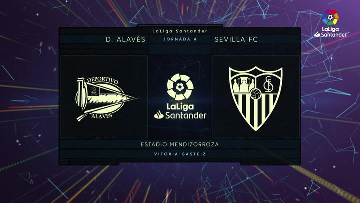Resumen y goles del Alavés 0-1 Sevilla