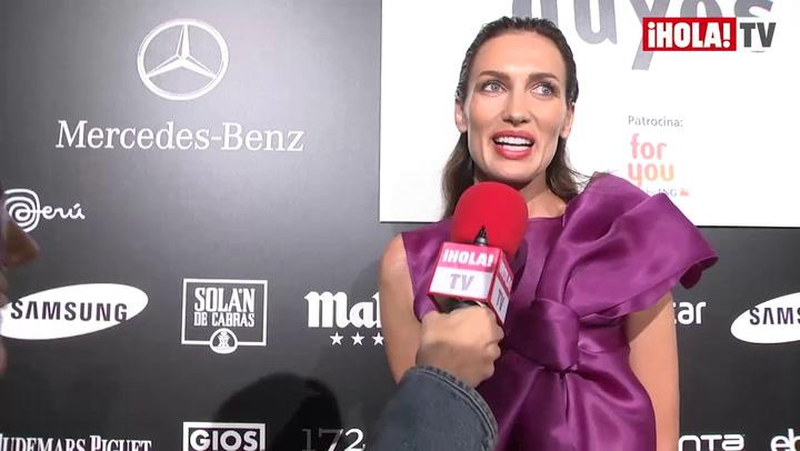 Hablamos con Nieves Álvarez: \'Volver a la pasarela siempre es un sueño para mi\'
