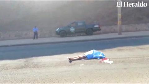 Tegucigalpa: muere señora atropellada mientras cruzaba el anillo periférico