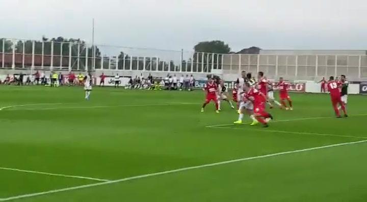 De Ligt se estrena como goleador con la Juventus de Turín