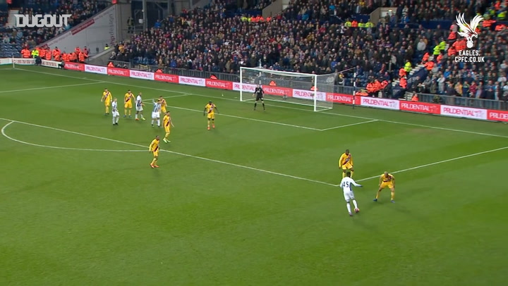 Incredible Goals: Andros Townsend's Solo Effort Vs WBA