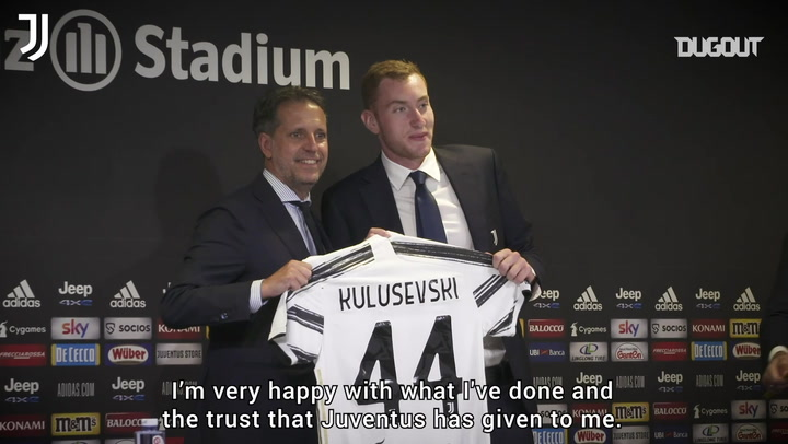 "Dejan Kulusevski: "" I'm the happiest guy in the world!"""