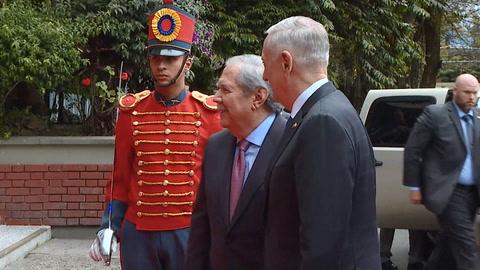 EEUU tiende puentes en defensa con nuevo gobierno de Colombia