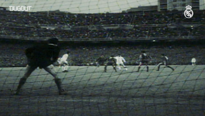 Ferenc Puskas' best goals for Real Madrid