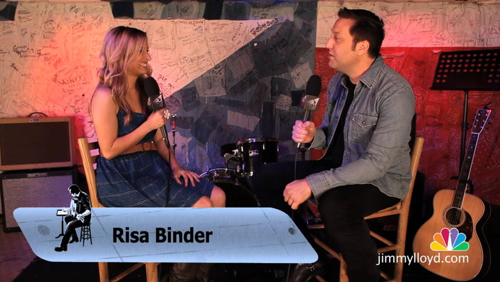 Risa Binder is interviewed on The Jimmy Lloyd Songwriter Showcase