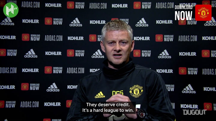 Solskjaer: 'It hurts to see Liverpool win the title'