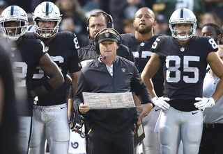 Raiders Finish Preparations for Packers, Gruden's Return to Green Bay – VIDEO