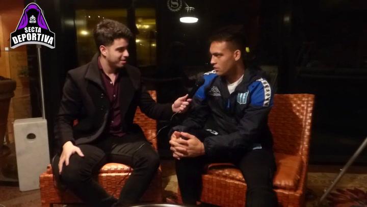 Lautaro desvela como fueron sus inicios en una entrevista en La Secta Deportiva