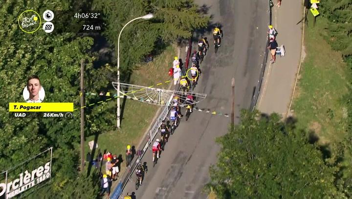 Roglic demuestra su poderío en la primera etapa de montaña del Tour