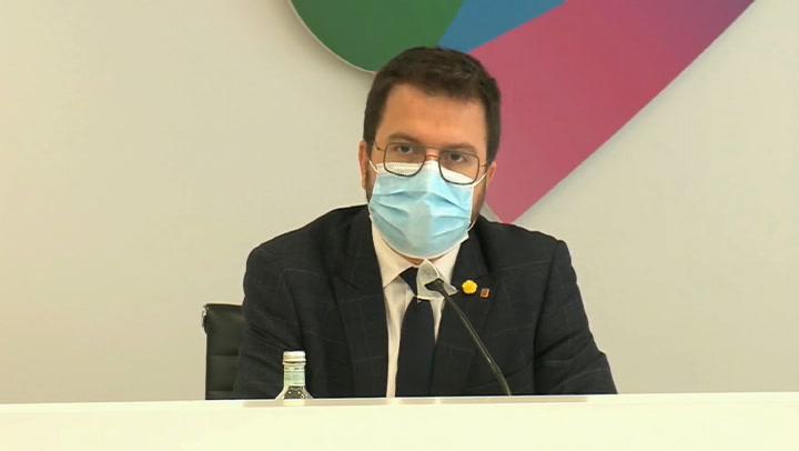 Aragonès se muestra prudente ante las medidas restrictivas
