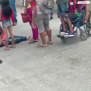 Niño muere atropellado mientras pedía dinero en calles de Chamelecón