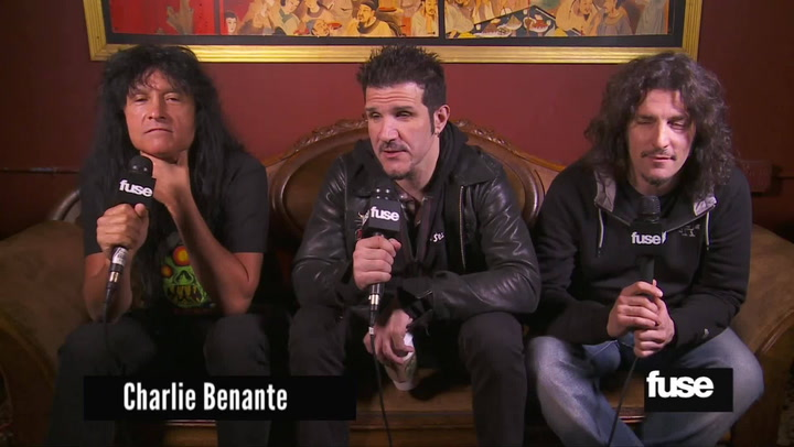 Interviews: Anthrax Explain Covering Journey, Cheap Trick & Rush
