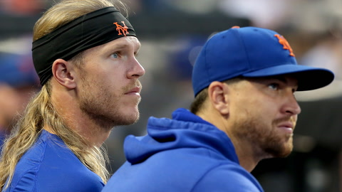 Noah Syndergaard is on a mission to prove he's healthy before season concludes