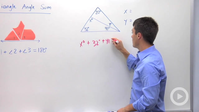 Triangle Angle Sum - Problem 1