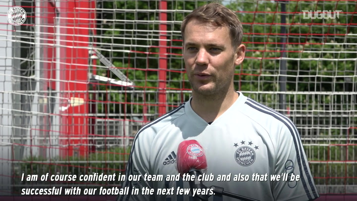 Manuel Neuer discusses his new Bayern contract