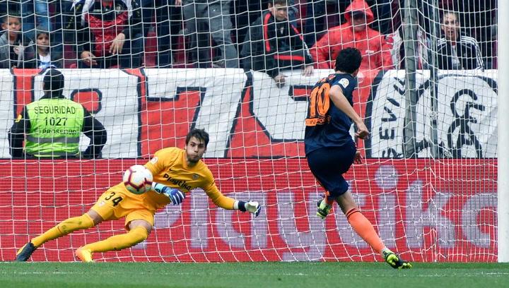 LaLiga: Resumen y Goles del Partido Sevilla (0) - (1) Valencia del 31/03/2019 | Vídeo