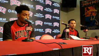 Noah Robotham on UNLV's win